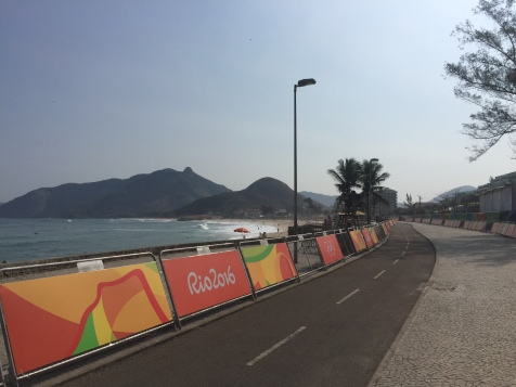 The day before competition at Pontal (for time trial)